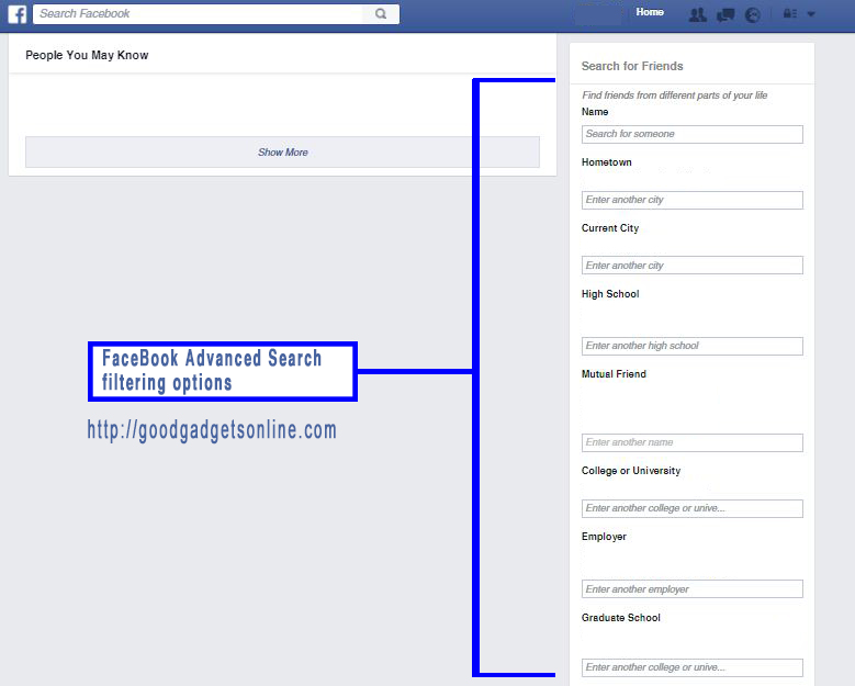 Facebook People Search And Facebook Advanced Search 2020 The How To Guide The Gadget Lover Find stories, connections and photos of people on facebook. facebook advanced search 2020